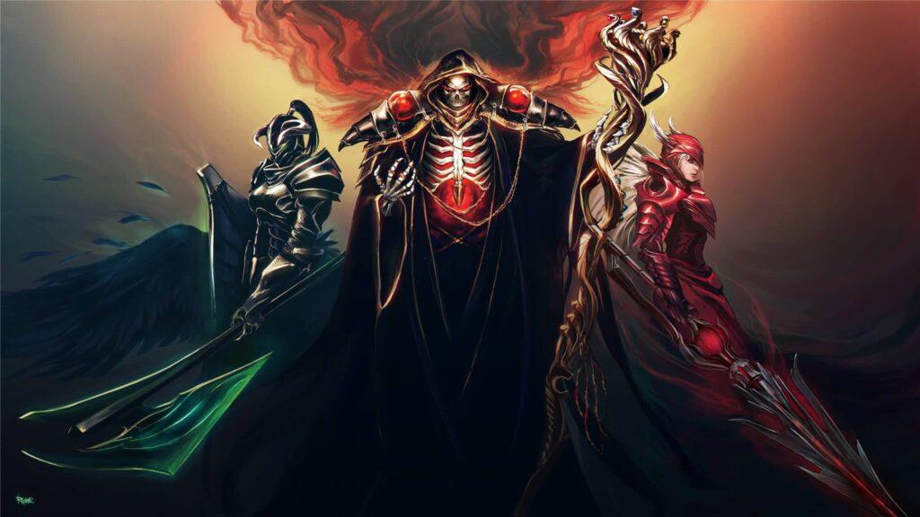 Overlord Season 4 Art